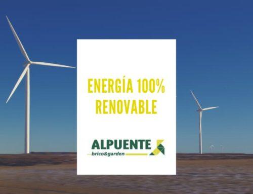 ENERGÍA 100% RENOVABLE: ALPUENTE SOSTENIBLE